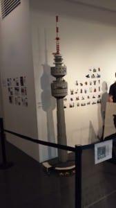 Großer LEGO-Turm