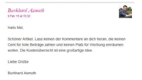 Kommentar Burkhard Asmuth