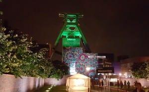 Zollverein bei Nacht | Extraschicht 2015