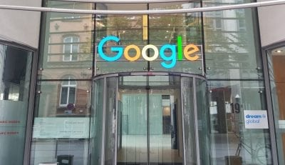 Google Büro in Hamburg